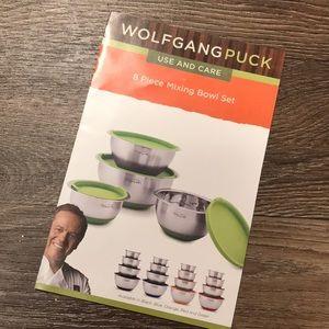 Wolfgang Puck 8 Piece Mixing Bowl Set